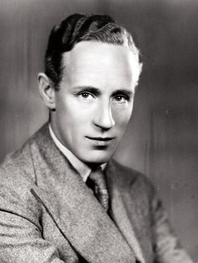 1st August 1928: British actor Leslie Howard, who is appearing at the Lyric Theatre, London. (Photo by Sasha/Getty Images)