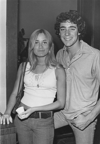 Barry Williams and Maureen McCormick