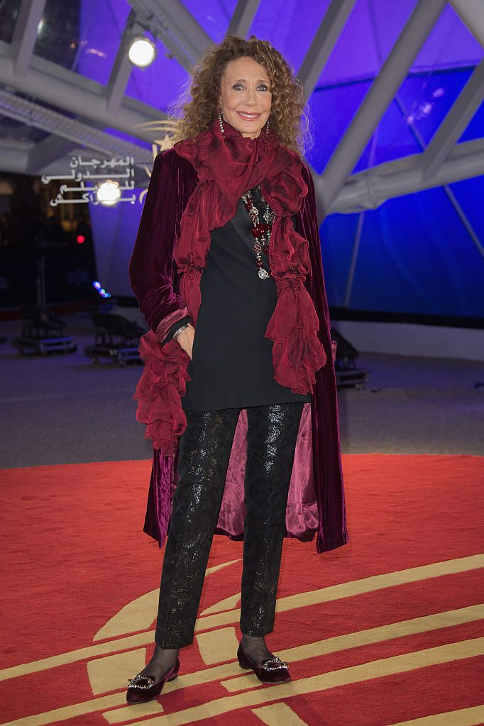 MARRAKECH, MOROCCO - DECEMBER 04: Marisa Berenson attends the 16th Marrakech International Film Festival : Day Three on December 4, 2016 in Marrakech, Morocco. (Photo by Dominique Charriau/WireImage)