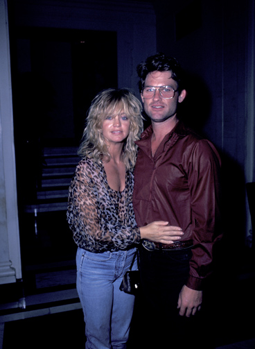 Goldie Hawn and Kurt Russell Sighting at the Carlyle Hotel - July 23, 1983