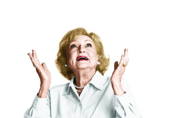20 Oct 2010 --- Betty White --- Image by � Kwaku Alston/Corbis Outline