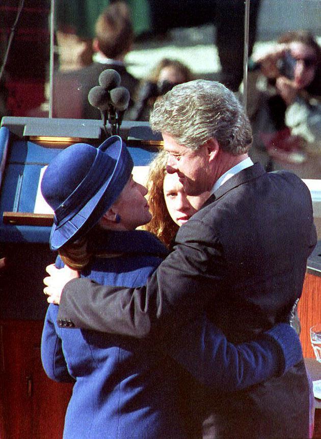 clintons-inauguration-1993