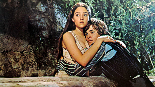 No Merchandising. Editorial Use Only. No Book Cover Usage. Mandatory Credit: Photo by Moviestore Collection / Rex Features (1619684a) Romeo And Juliet, Olivia Hussey, Leonard Whiting Film and Television