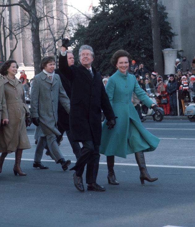 the-carters-inauguration-walk