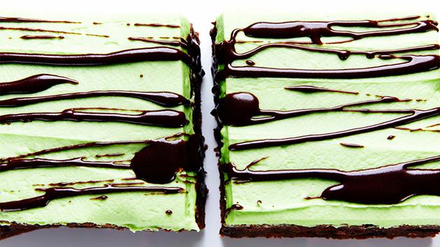 green-brownies