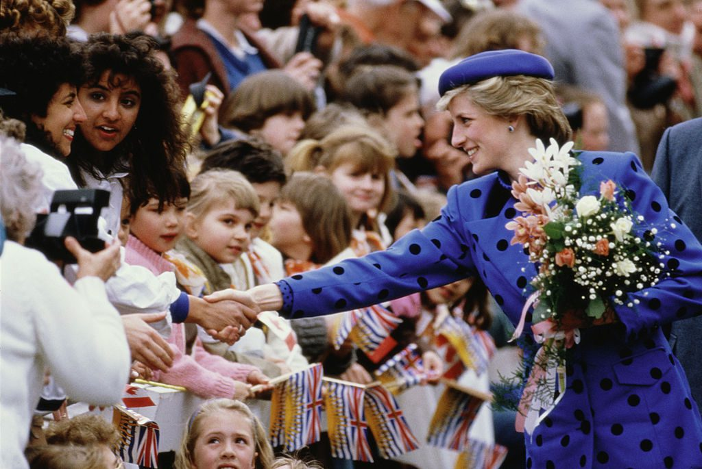 Diana, Princess of Wales during a trip to Canada, May 1986. (Photo by Georges De Keerle/Getty Images)