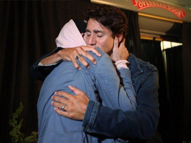 Gord Downie Justin Trudeau
