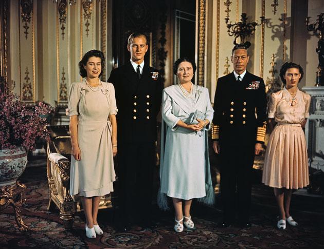 Princess Elizabeth engaged to Prince Philip