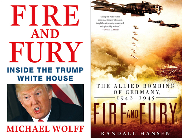 Fire And Fury And 7 Other Famous Books That Share The Same Title