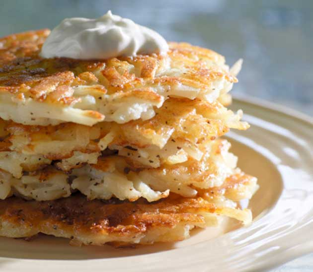 latkes, potato, pancakes