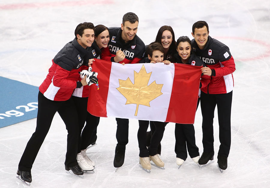 Canada's Figure Skating Team