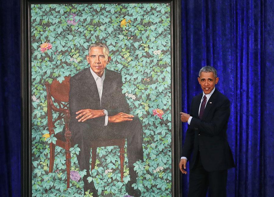 Barack Obama Smithsonian Portrait