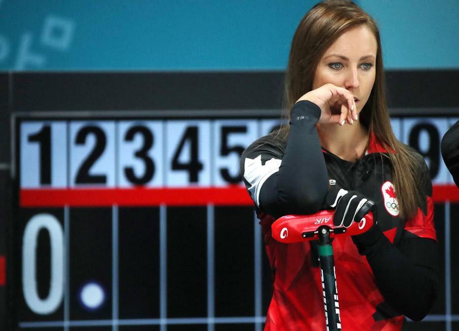 Rachel Homan at Olympics