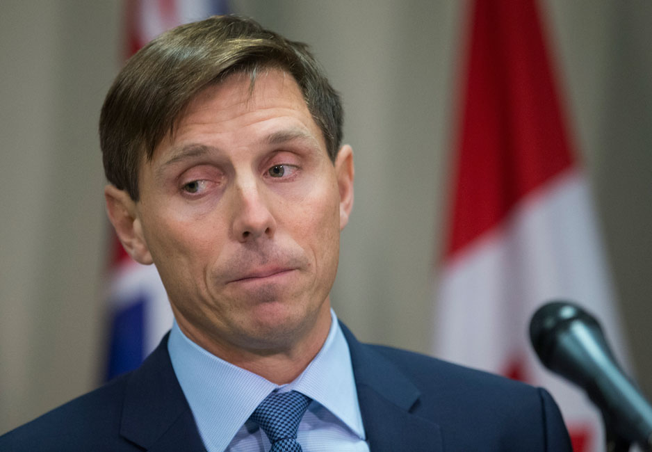 Patrick Brown, Former PC Leader, answers questions about allegations of sexual misconduct