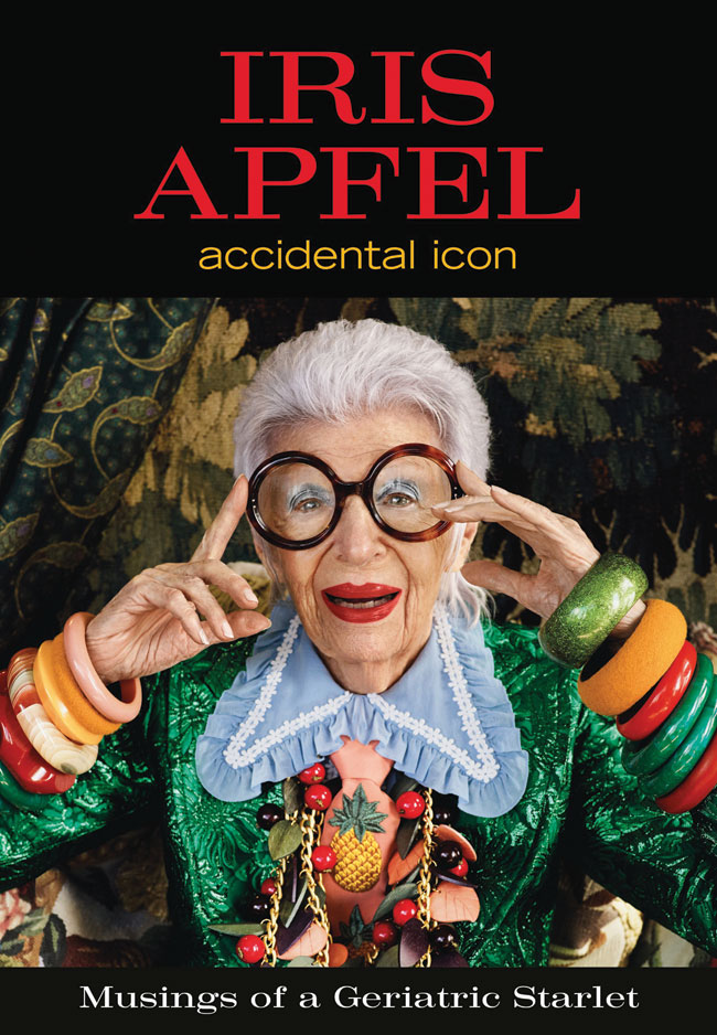 Iris Apfel book cover