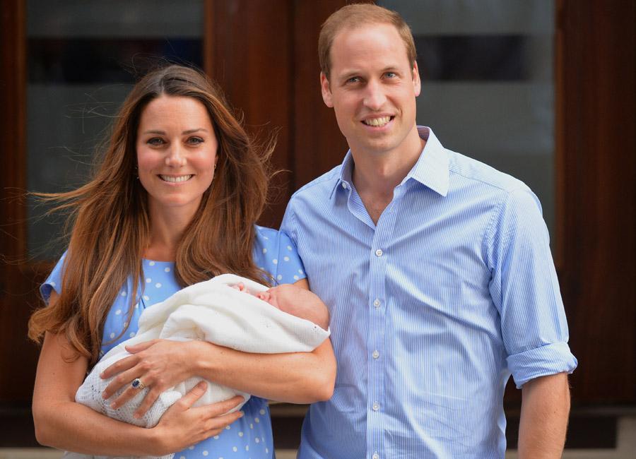 Prince George's birth
