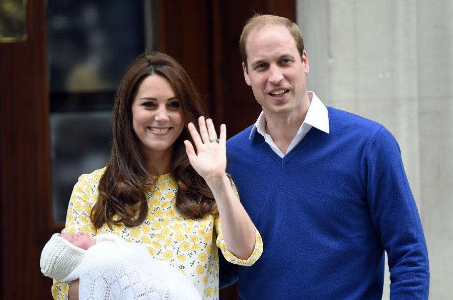 Princess Charlotte's birth