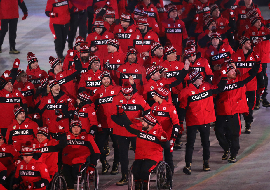 2018nparalympic athletes from canada