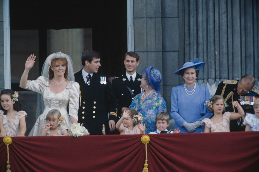 Prince Andrew's wedding, 1986