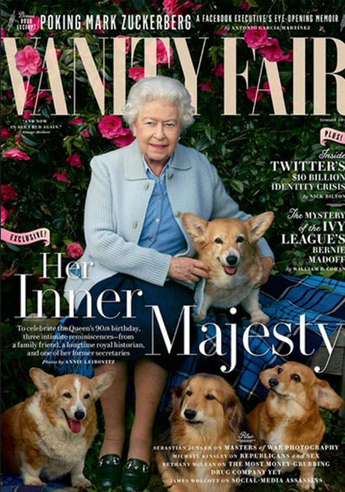 Queen Elizabeth Vanity Fair cover