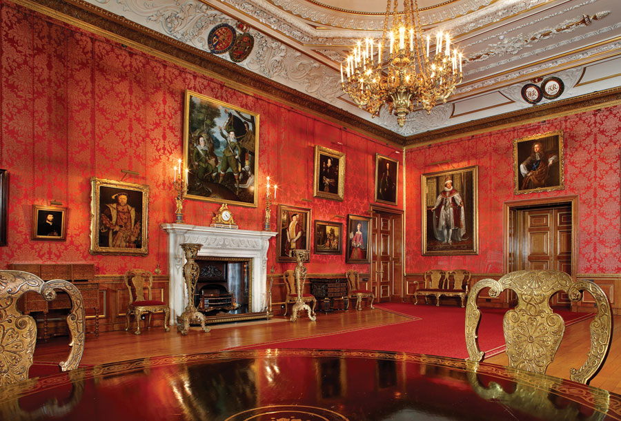 The Grand Reception Room at Windsor Castle