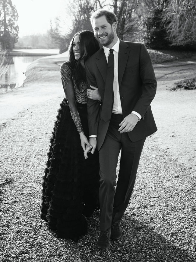 Prince Harry and Megan Markle engagement photo