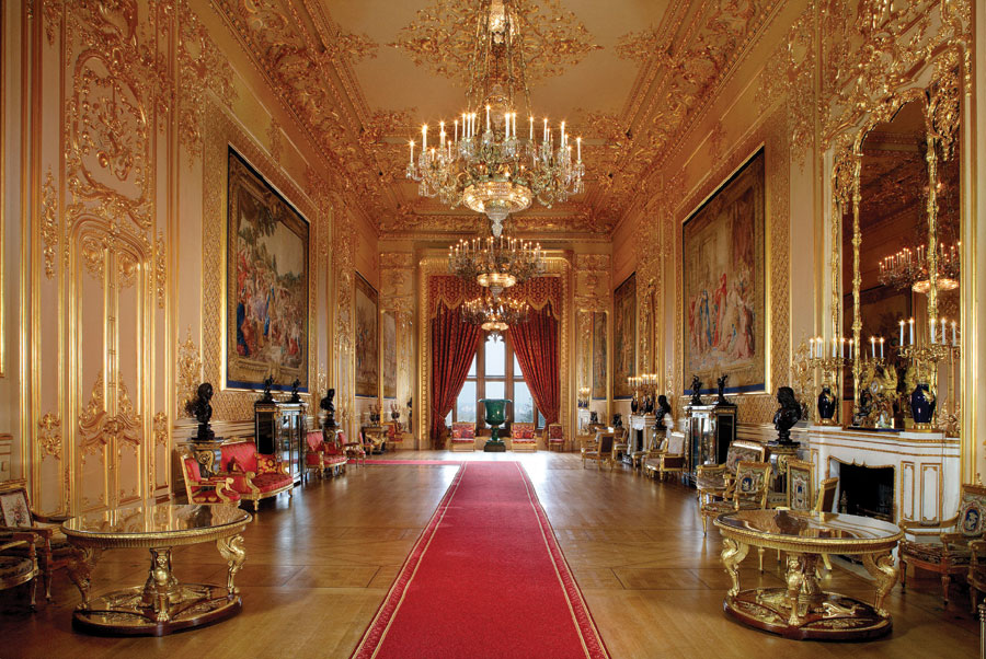 Queen's Drawing Room at Windsor Castle