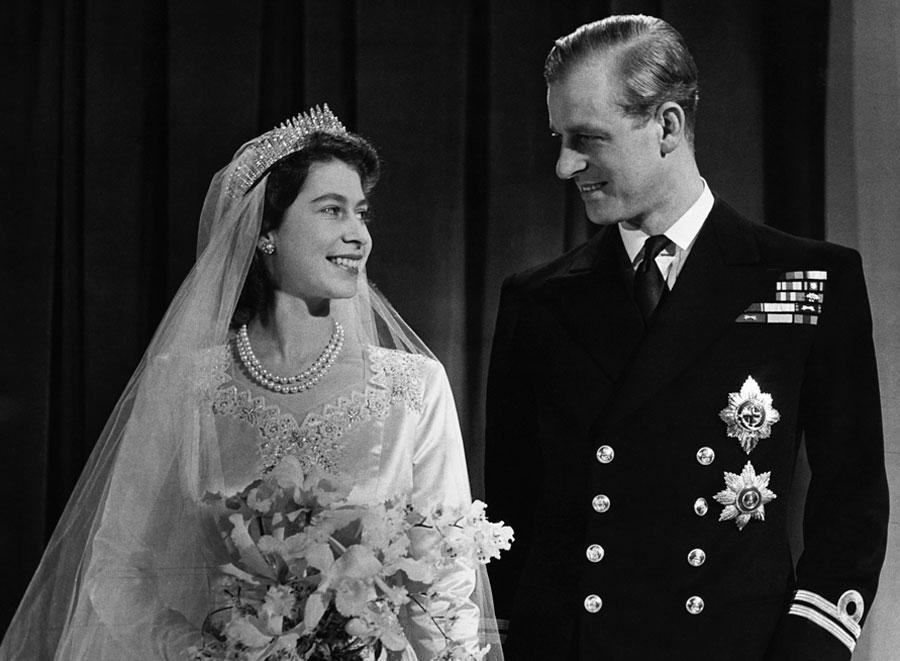 Princess Elizabeth and Prince Philip, 1947