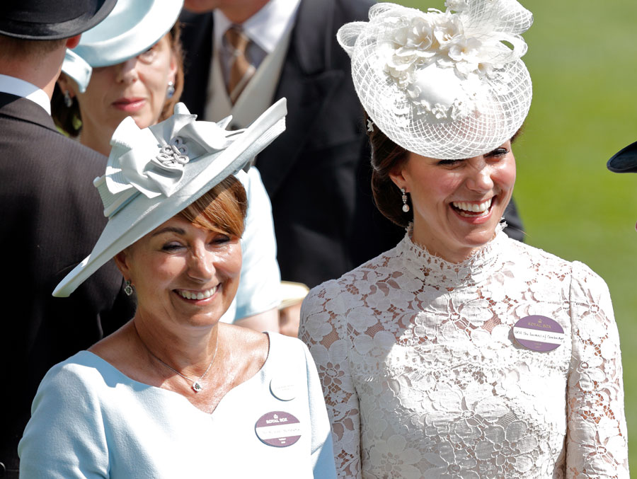 Duchess of Cambridge and Carole Middleton