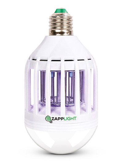 Outdoor fly repellant LED bulb