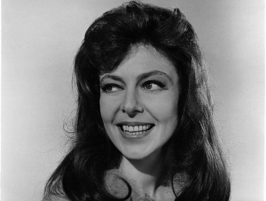 A black and white photo of Elaine May from the film Enter Laughing.