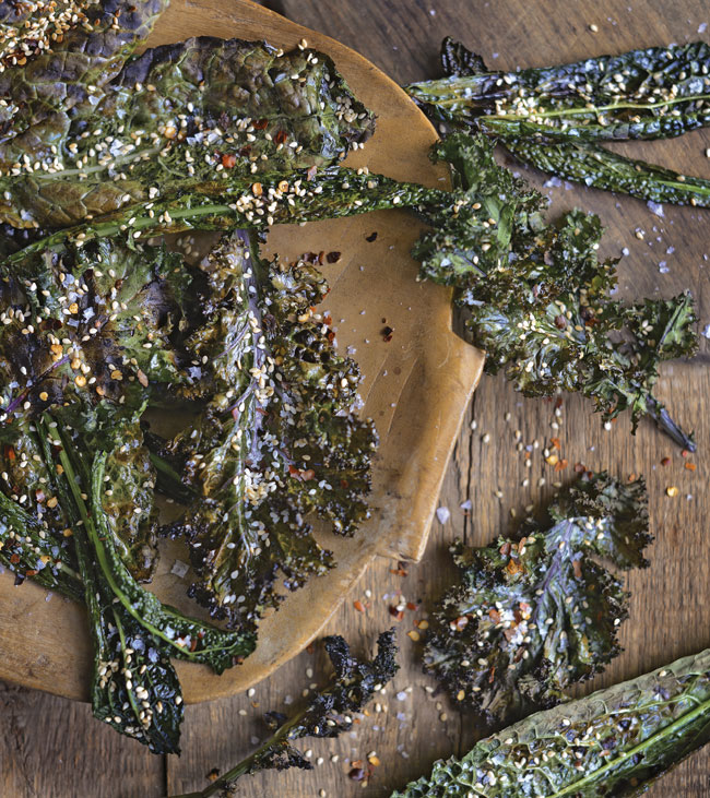 Thai Grilled Kale