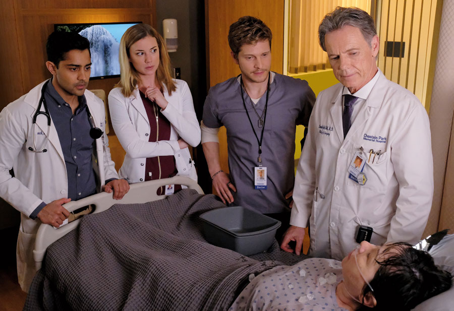 Bruce Greenwood on The Resident