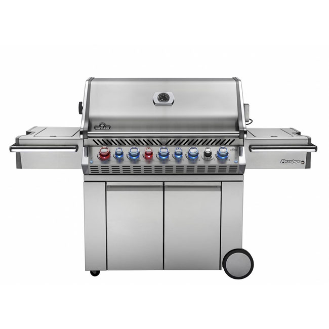 Napoleon Precision Pro gas grill in stainless steel
