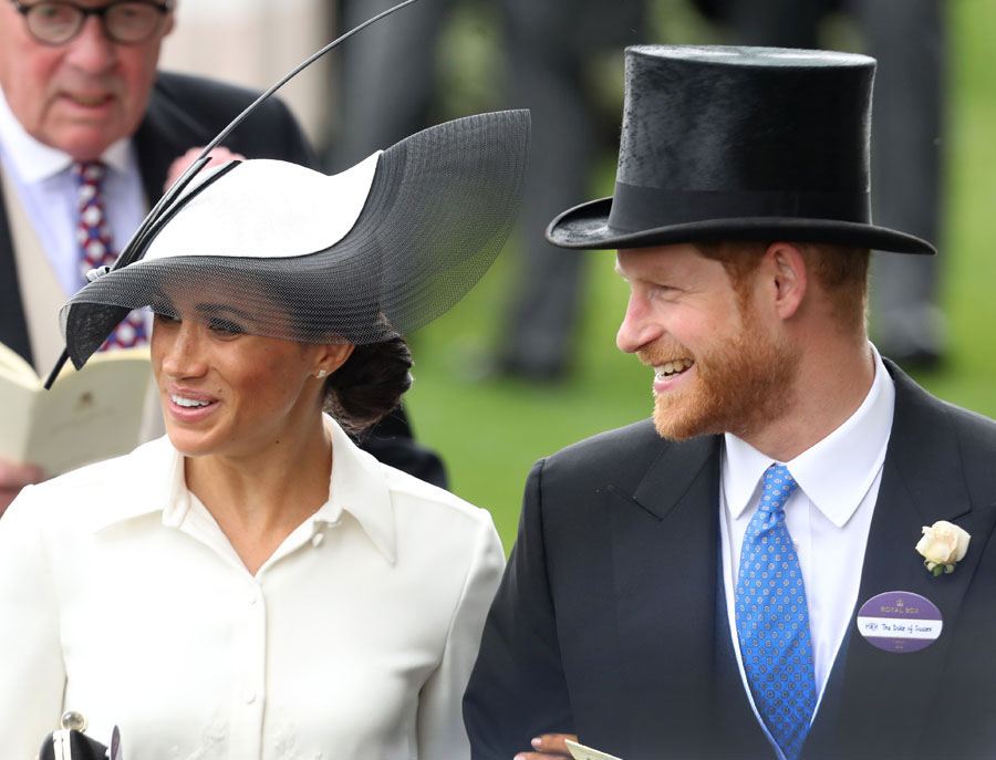 Meghan Markle opts not to wear a name tag at Royal Ascot