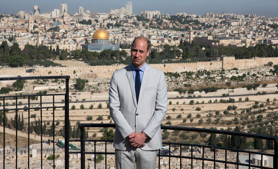 Prince William tours the Middle East