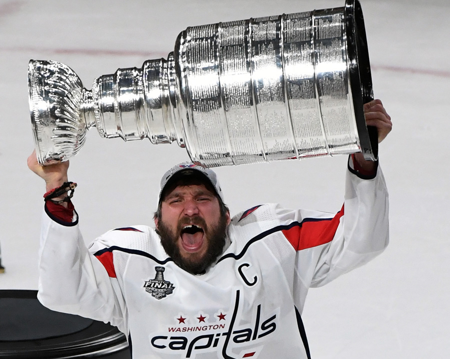 Ovechkin lifts cup