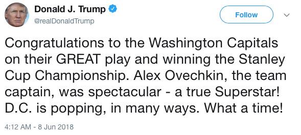 trump tweet caps