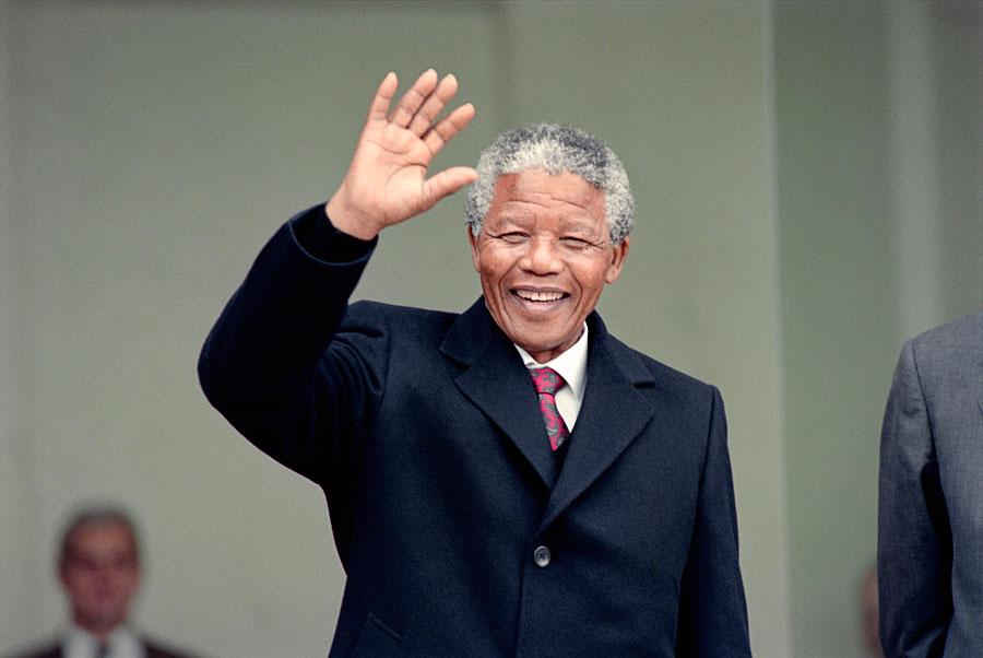 Nelson Mandela 100