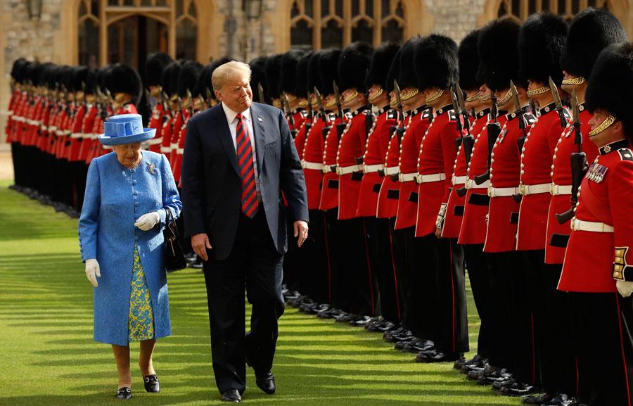 Trump meets the Queen