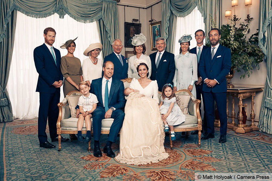 Prince Louis Smiles Widely in Newly Released Christening Photos