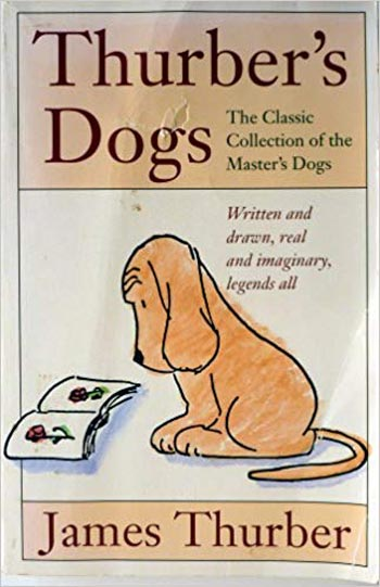 Book cover of Thurber's Dogs by James Thurber