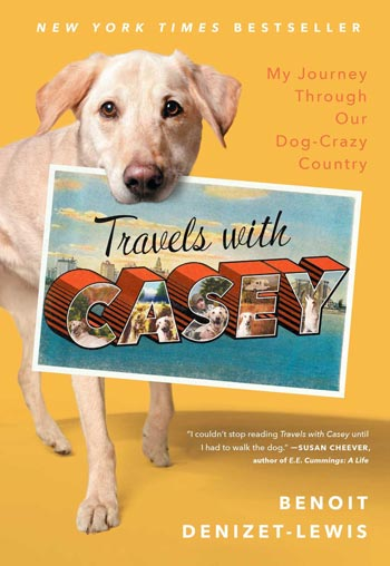 Book cover of Travels with Casey by Benoit Denizet-Lewis