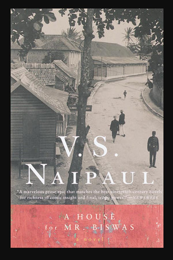 Book Cover from V.S. Naipaul