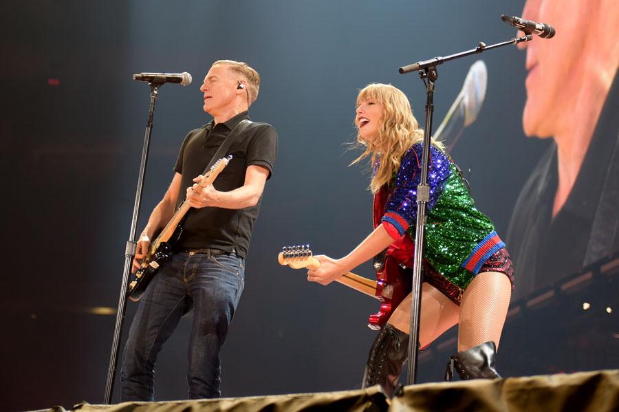 Taylor Swift and Bryan Adams
