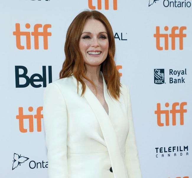 Julianne Moore, spotted in Toronto, 2017 (photo: Taylor Hill/Film Magic)