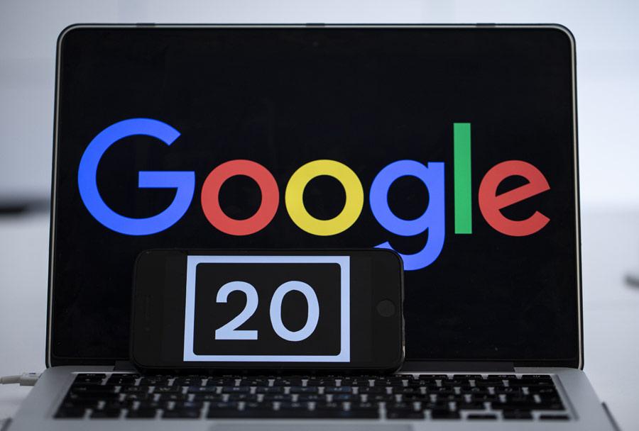 Google turns 20