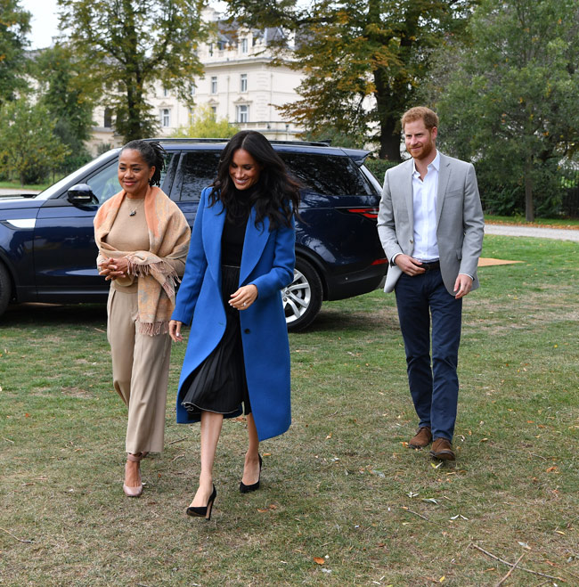 Meghan Markle's mom joins royals for cookbook launch