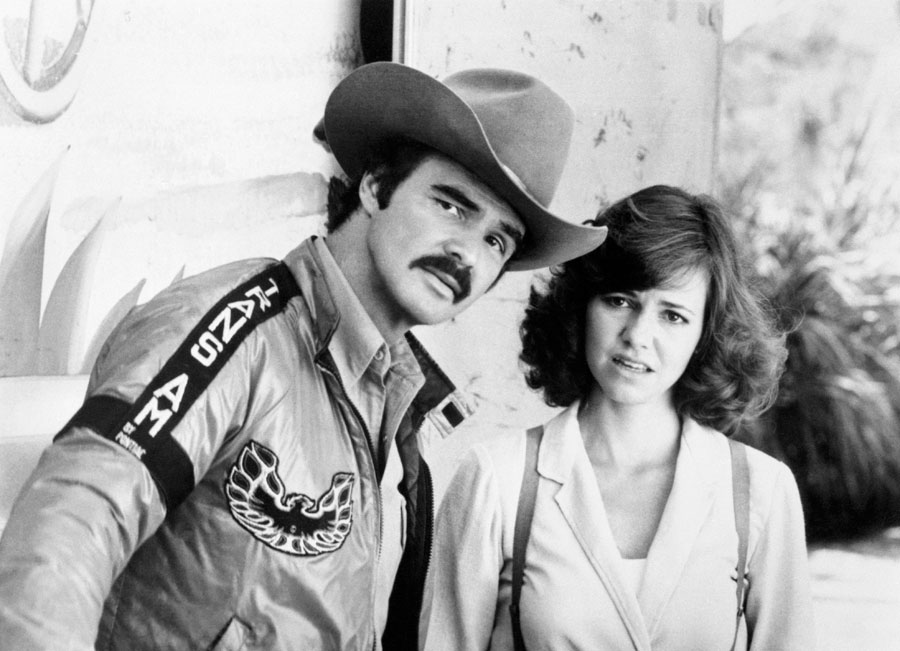 Burt Reynolds and Sally Field.