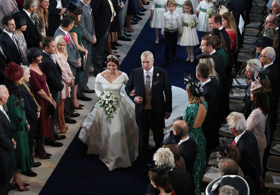 Princess Eugenie and the Duke of York